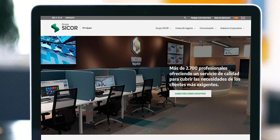 web Grupo SICOR